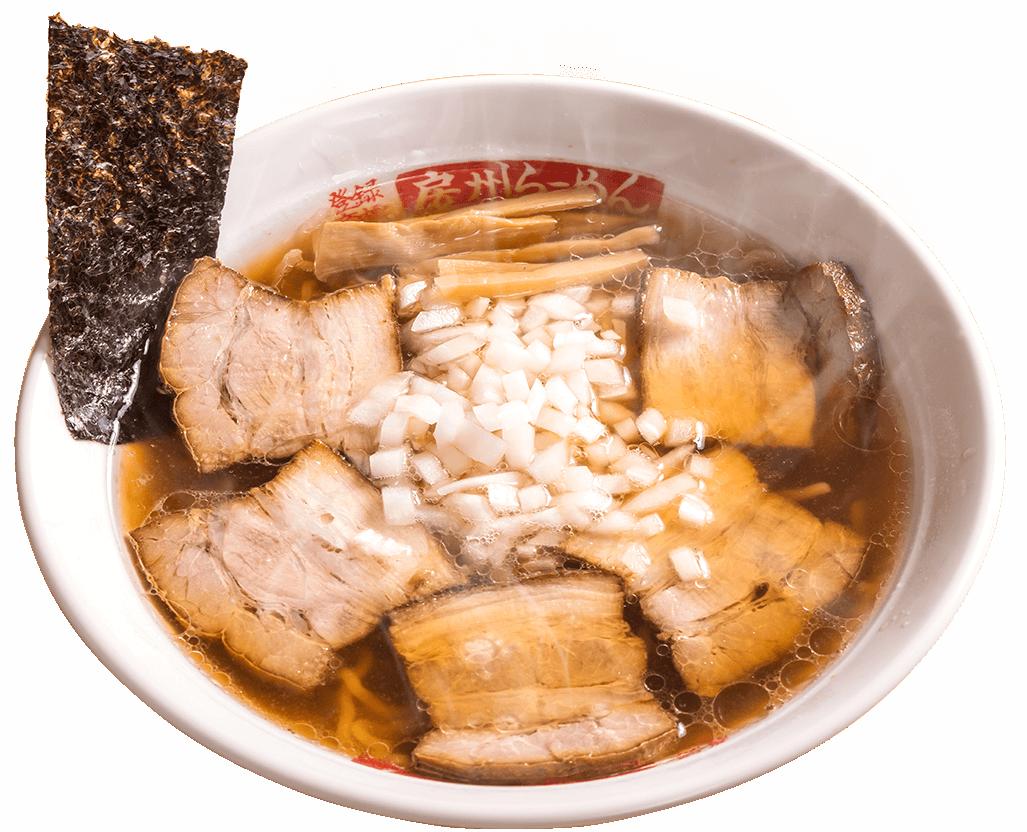 厚切りチャーシュー麺